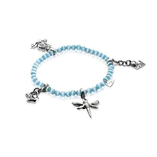 Zinzi-Charms-rek-armband-one-size-turquoise-CH-A25T-