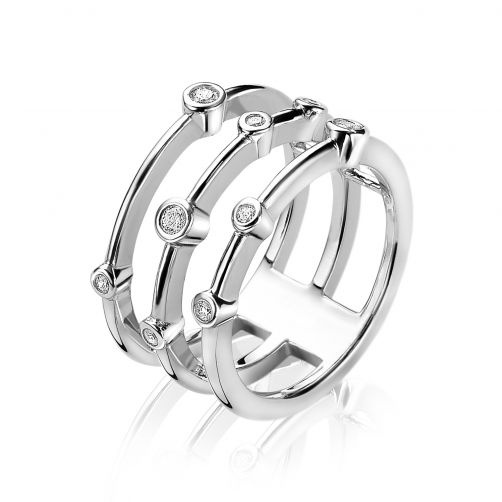 ZINZI-zilveren-multi-look-ring-rond-wit-ZIR1441