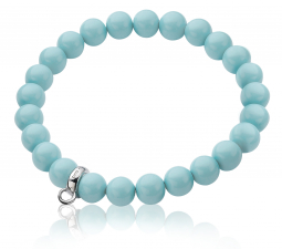 Zinzi-Charms-rek-armband-one-size-turquoise-parels-CH-A20T-