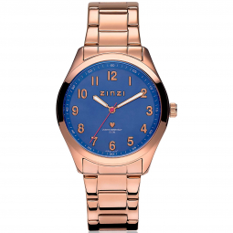 ZINZI-Watch-Blue-Dial-and-Rose-Golden-Band