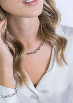 ZINZI-Sterling-Silver-Chain-Necklace-Oval-Rolo-Chain
