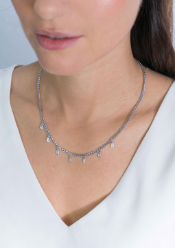 ZINZI-Sterling-Silver-Curb-Chain-Necklace-Baguette-Zirconia