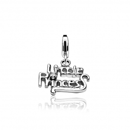 Zinzi-zilveren-bedel-Little-Princess-wit-CHARMS277